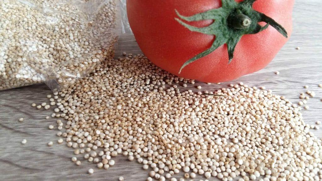 Quinoa der Reisersatz