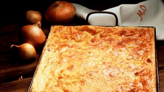 Zwiebelkuchen - wie gesund ist die Zwiebel