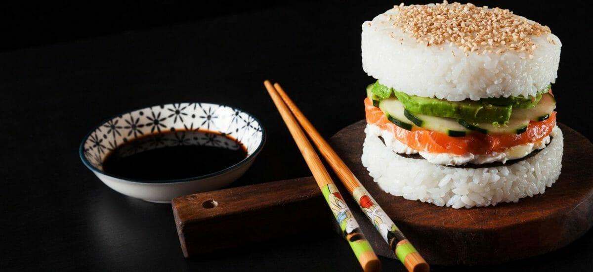 Neuer Sushi Trend: Sushi-Burger