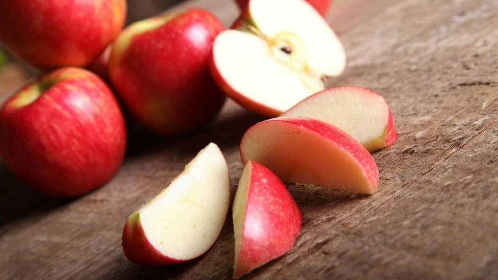 Apfel heimisches Obst